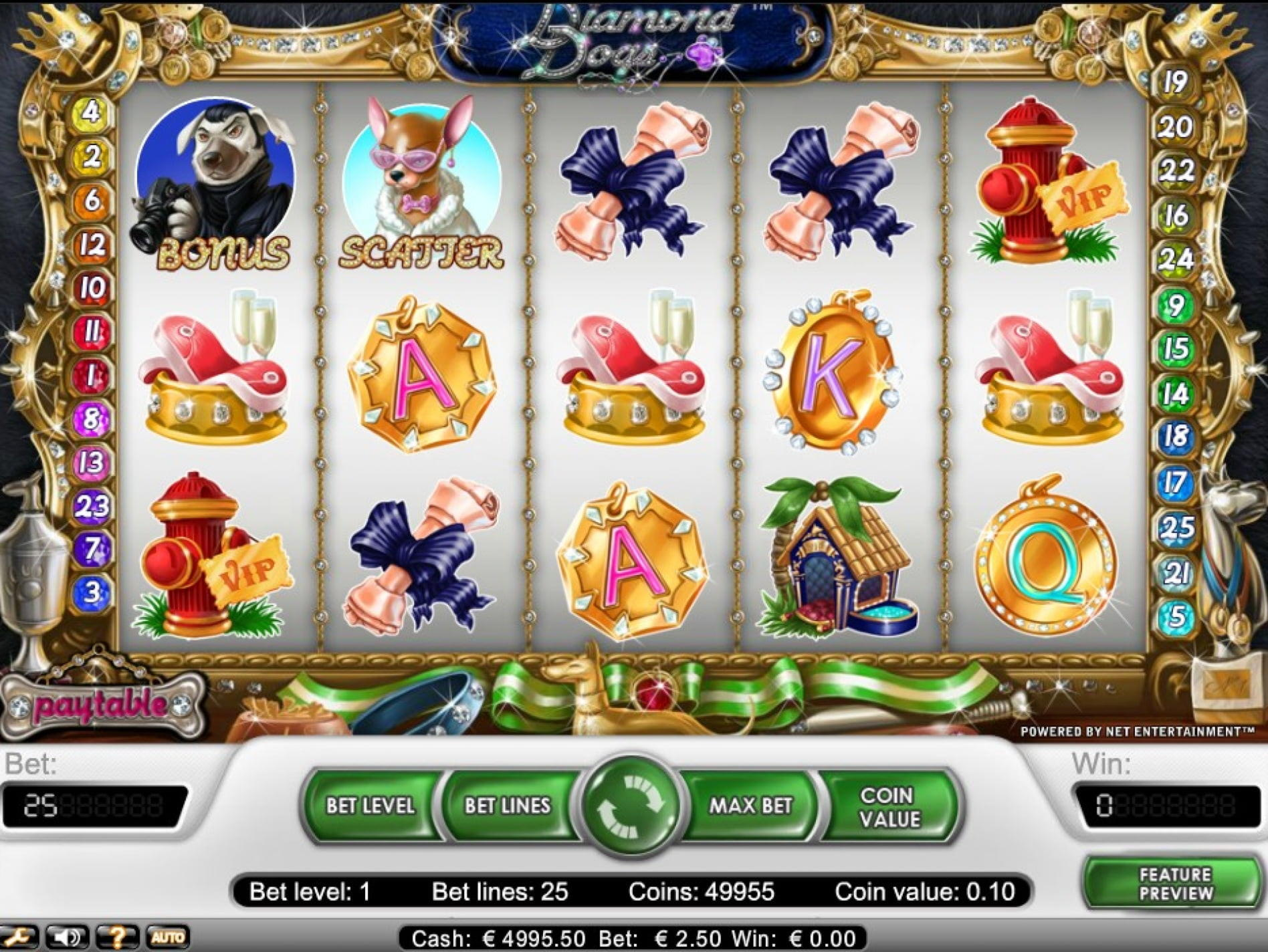 $260 No Deposit Casino Bonus at Spin Palace Casino