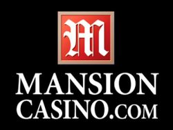 825% Match bonus at Mansion Casino